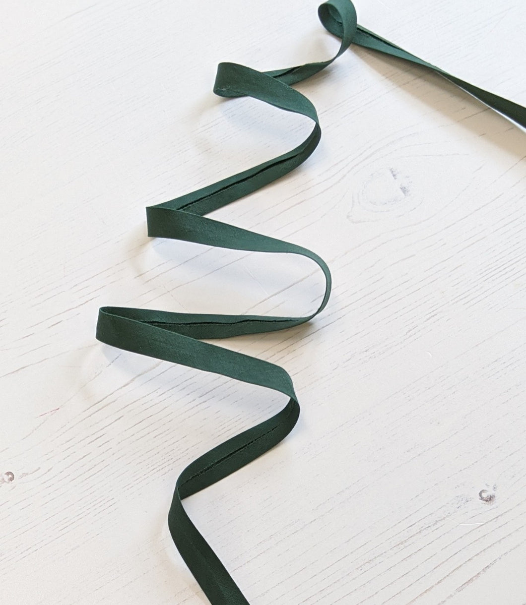 Bias Binding 12mm - dark bottle green