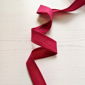 hot pink bias binding