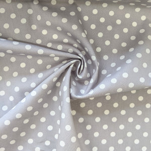 Light Grey Medium Spot - 1/2 metre