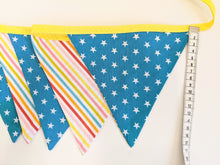 Load image into Gallery viewer, Rainbow bunting Handmade Sample