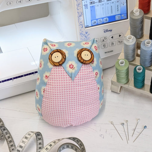 free sewing pattern owl and sewing cat