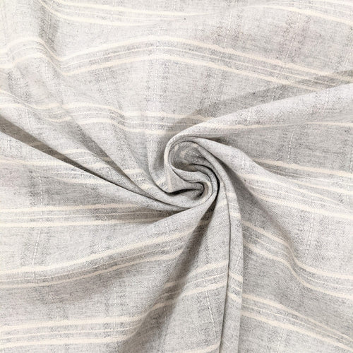 Light grey check fabric (wide) x 1/2mtr