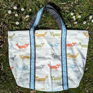 Tilly Bag sewing kit - foxes