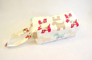 Oil cloth Wash Bag Pattern