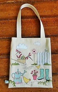 'Country Garden' Applique Bag Pattern