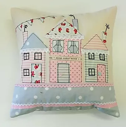 Home Sweet Home Cushion Pattern
