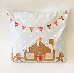 Gingerbread Cushion Pattern