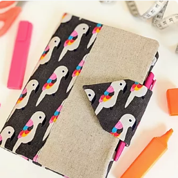 A5 Notepad Cover kit - Parrots