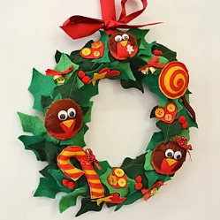 Christmas Wreath Pattern
