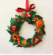 Load image into Gallery viewer, Christmas Wreath Pattern