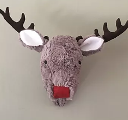 Hanging Reindeer Head Pattern