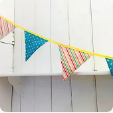 Load image into Gallery viewer, Bunting Pattern