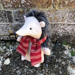Harry the Hedgehog doorstop pattern