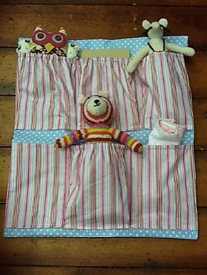 baby hanging storage sewing pattern