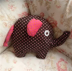 Erica the Elephant sewing pattern