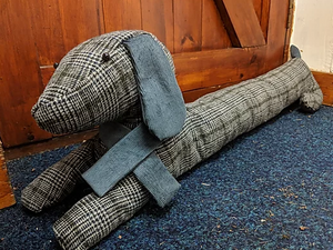 Sausage Dog Draught Excluder Pattern