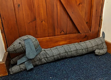 Load image into Gallery viewer, Sausage Dog Draught Excluder Pattern
