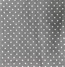 Load image into Gallery viewer, Grey Spot fabric - 1/2 mtr