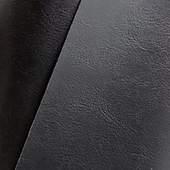 Navy Faux Leather - 1/2mtr