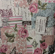 Pretty roses heavyweight cotton - 1/2mtr
