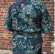 Amelia Waterfall Top Kit - winter floral - sizes 10-28