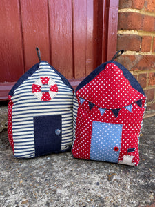 Beach hut doorstop sewing kit (makes TWO)