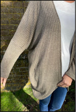Load image into Gallery viewer, easy cocoon cardigan sewing pattern