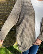 Load image into Gallery viewer, Cocoon Cardigan kit - Camel (sizes 10-28)