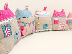 Cute Cottages Sewing Pattern