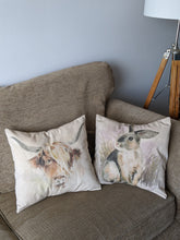 Load image into Gallery viewer, Country Cow and Cute Bunny cushion kit