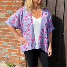 Load image into Gallery viewer, Kimono Jacket sewing pattern. NEW larger size range of UK10-28. Each pattern includes two size options 10-18 & 20-28.