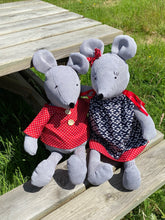Load image into Gallery viewer, Cute mice set sewing pattern