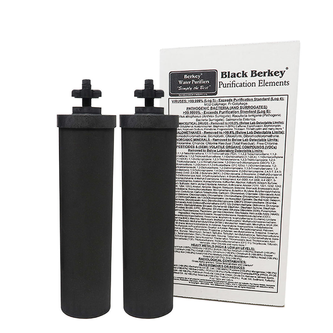 Black Berkey® Purification Elements, 2 stk.