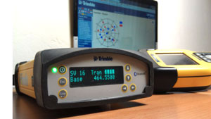 Trimble SPS852 GNSS Base Station as network RTK