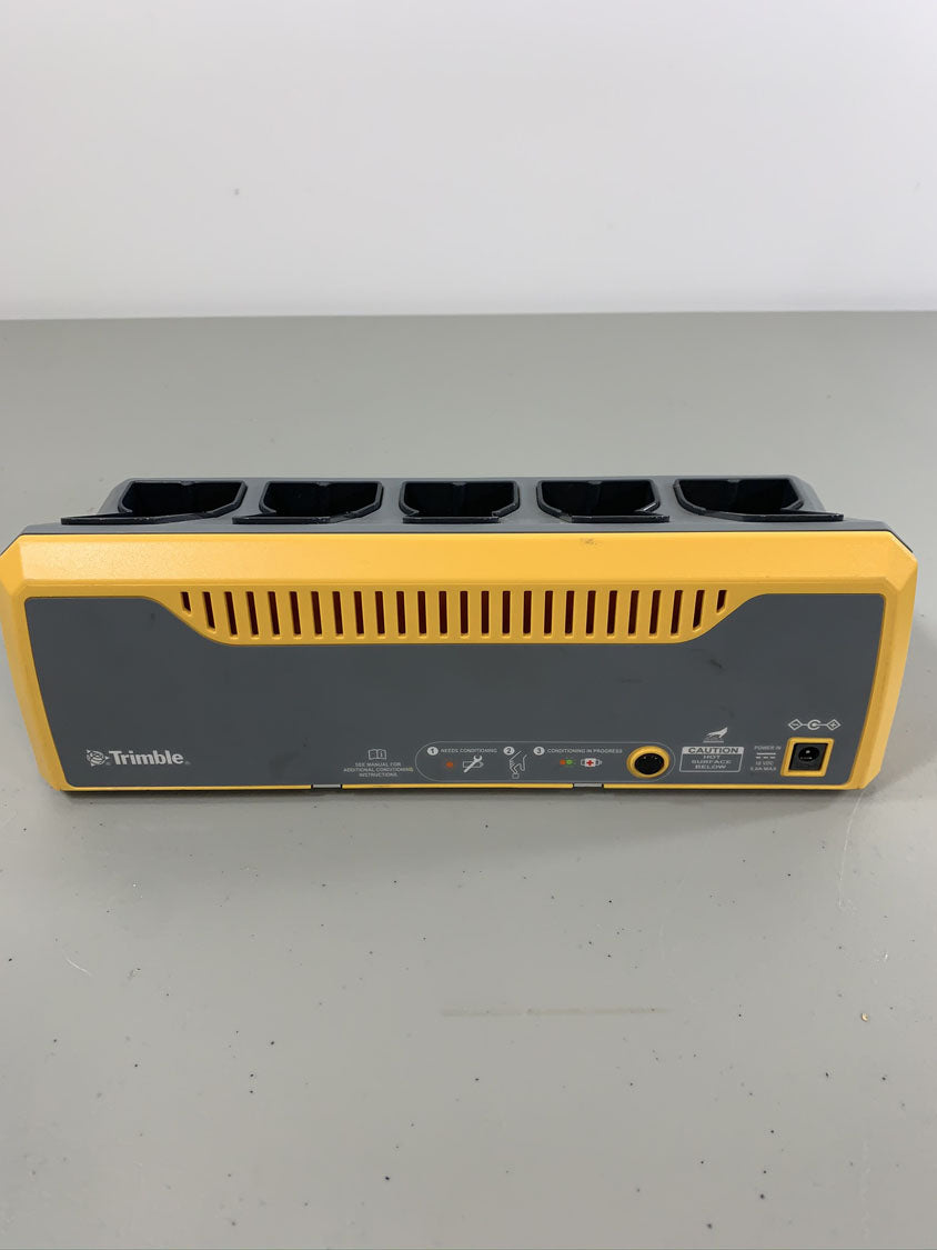 Trimble 5 Bay Charger for GPS and Total Station Batteries, S6, SPS985, R8, R6 | 57550-00