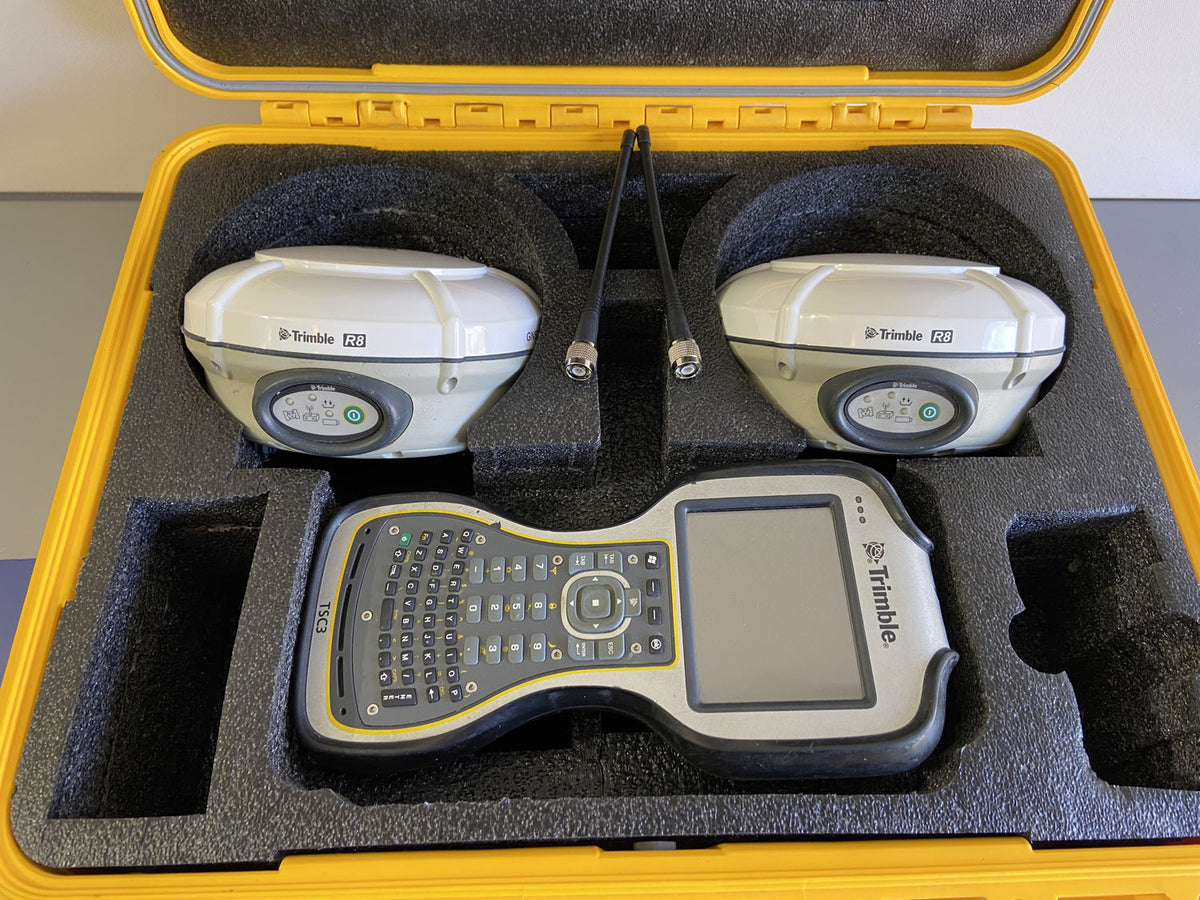 Trimble R8 Model 4 Base & Rover System for GNSS Survey GPS | 1608