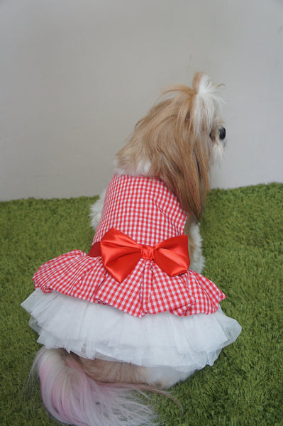 *NEW* Checkered Tutu Gown