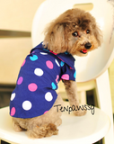 Colorful Happy Dots Polo Tee