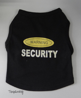 Warning! Security Singlet