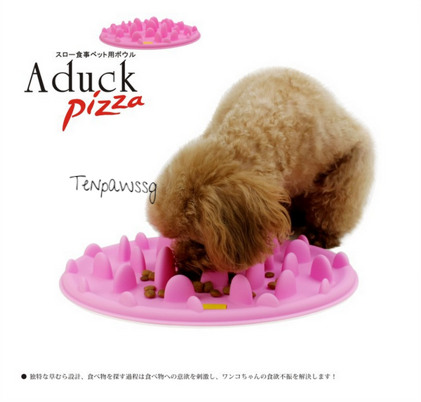 A-Duck Pizza Slow Feeder