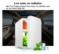 8L Portable Mini Fridge Freezer Warmer Refrigerator Cooler Car Home Travel