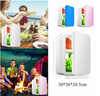 Image of 8L Portable Mini Fridge Freezer Warmer Refrigerator Cooler Car Home Travel