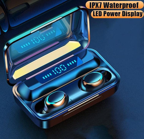 Wireless Earbuds Bluetooth 5.0 Wireless Earphones Charging Box With Microphone Sport Waterproof Headsets Earbuds