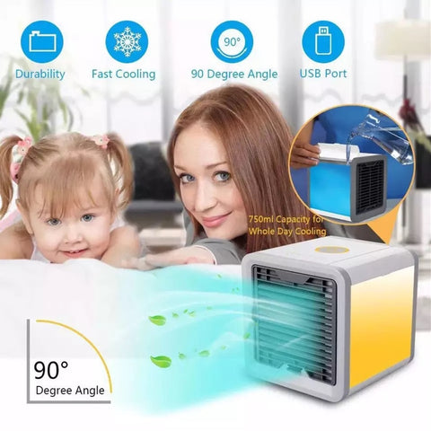 Portable Air Conditioner - Air Conditioning Usb Convenient Air Cooler