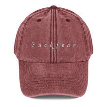 Load image into Gallery viewer, Fxckfear Vintage Hat