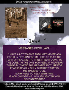 Channelled Message JAVA