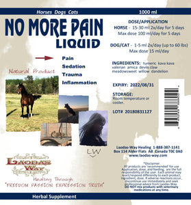 NO MORE PAIN - Liquid