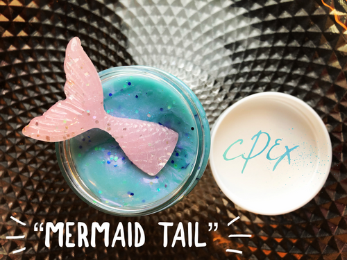 """Mermaid Tail"" traditional slime"