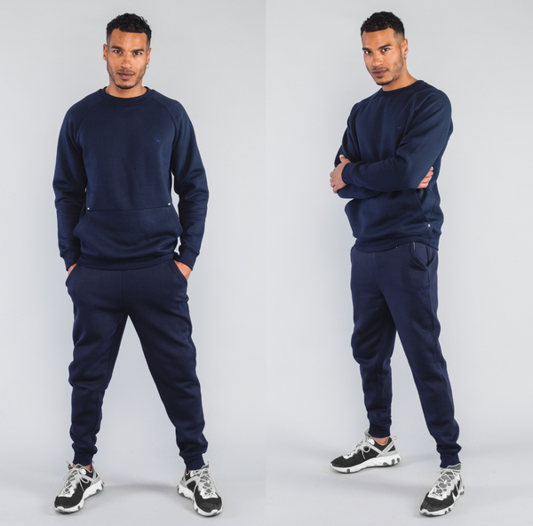 Essential Tracksuit Navy