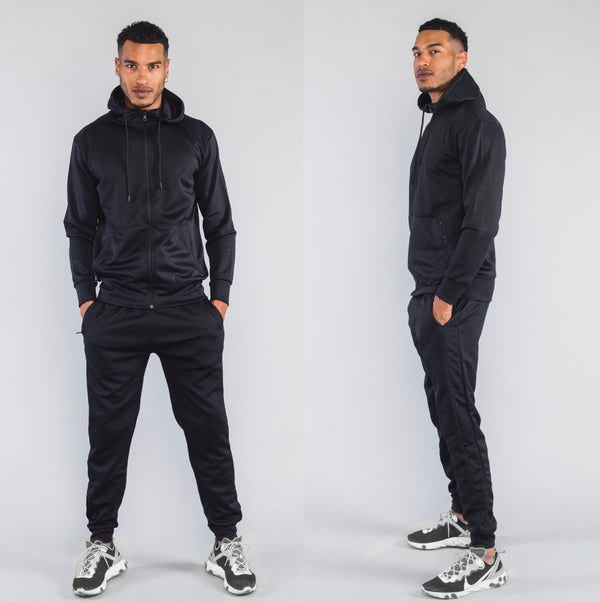 Icon Tracksuit Black
